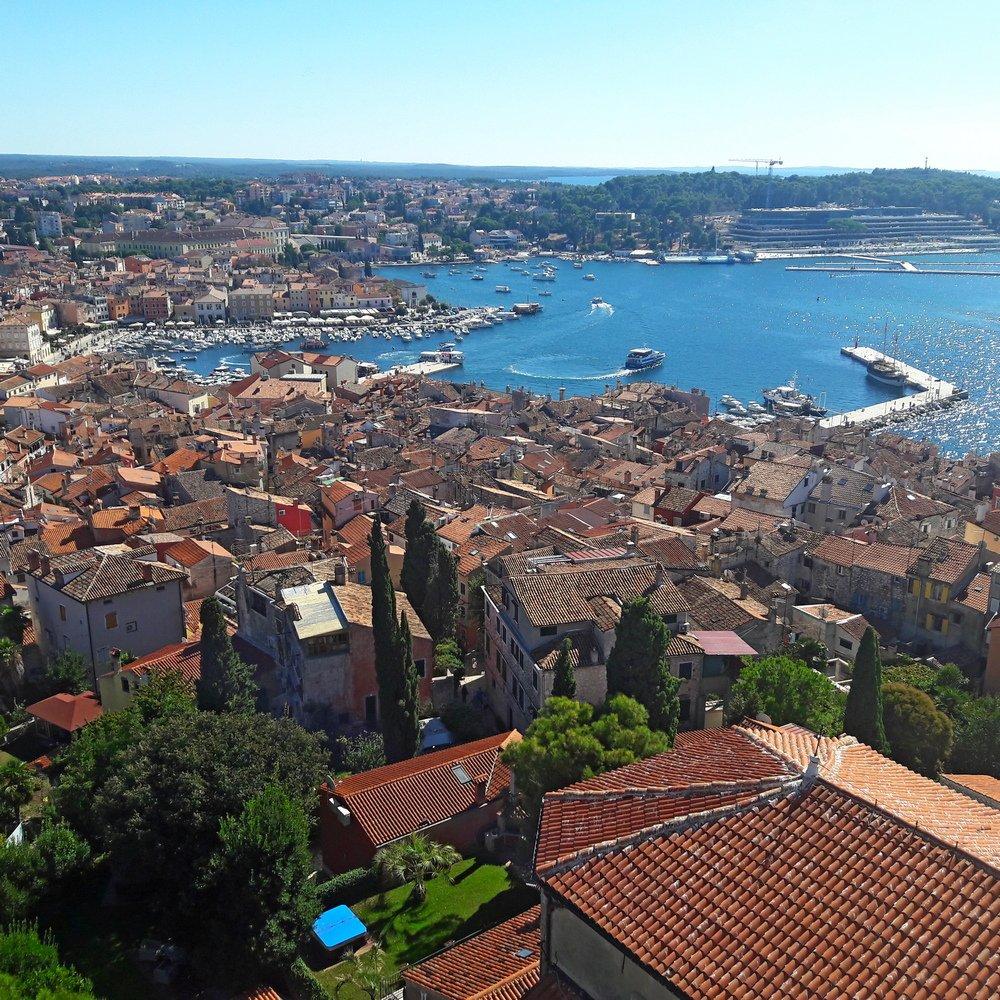 Istria trip with Rovinj panorama