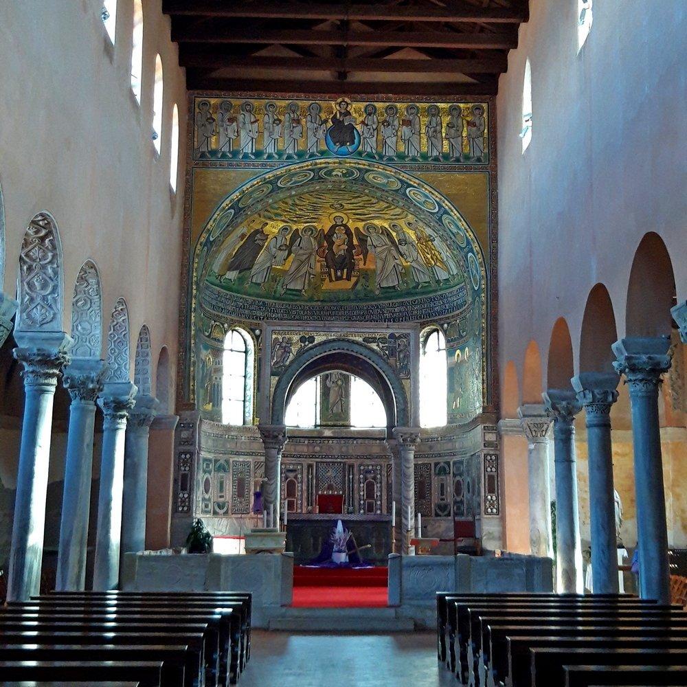 Istria day trip of Poreč UNESCO Basilica Euphrasian