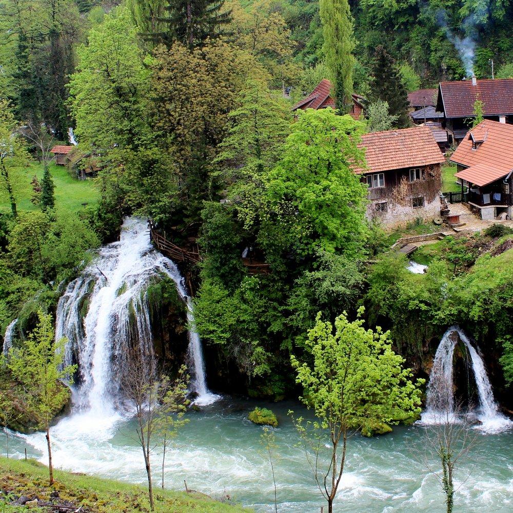 Izlet na Plitvička jezera i selo Rastoke