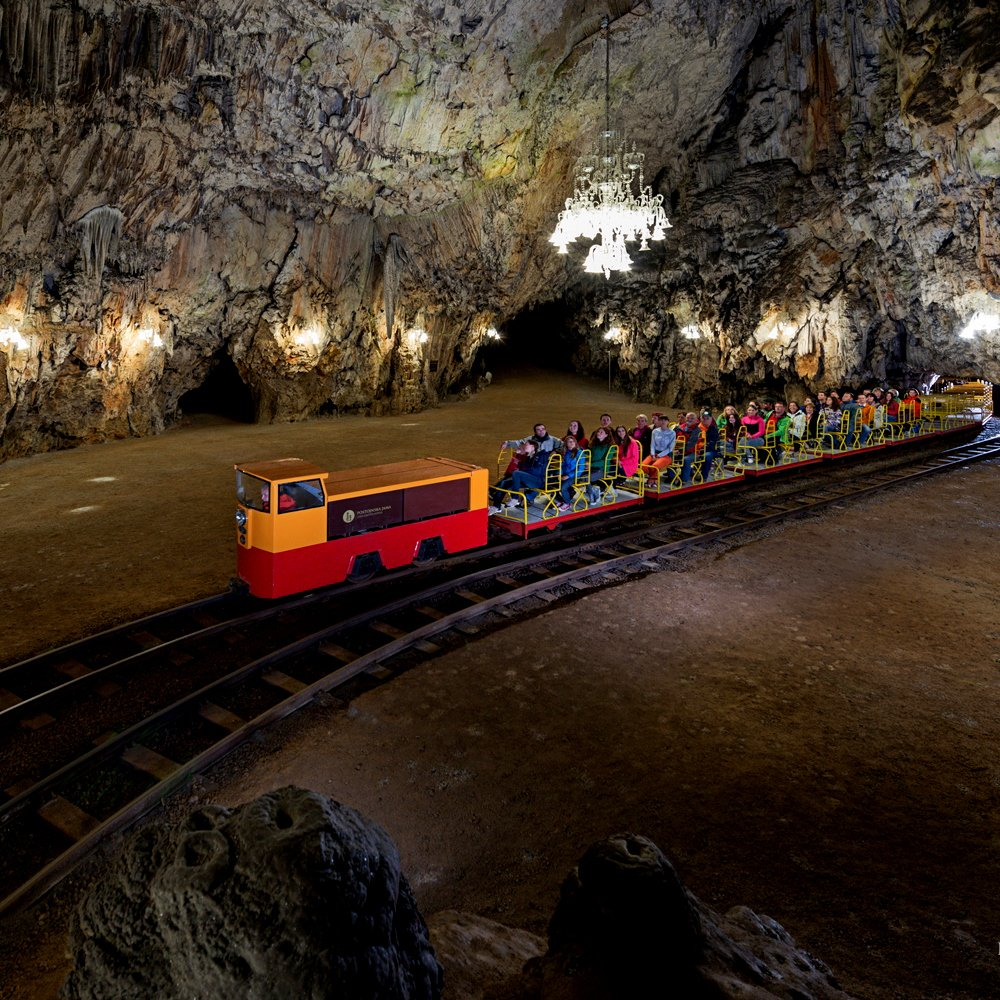 Day Trip from Zagreb to Postojna cave train ride