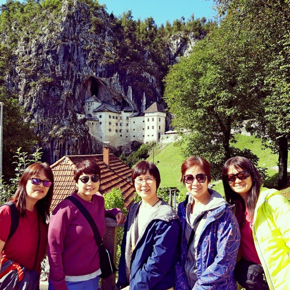 Postojna cave Predjama castle sightseeing