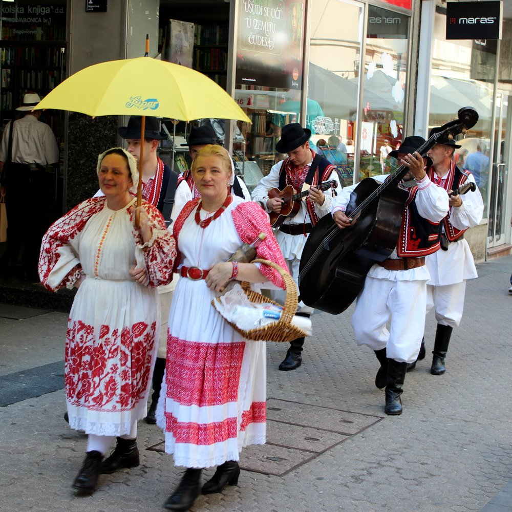 Zagreb traditional clothes