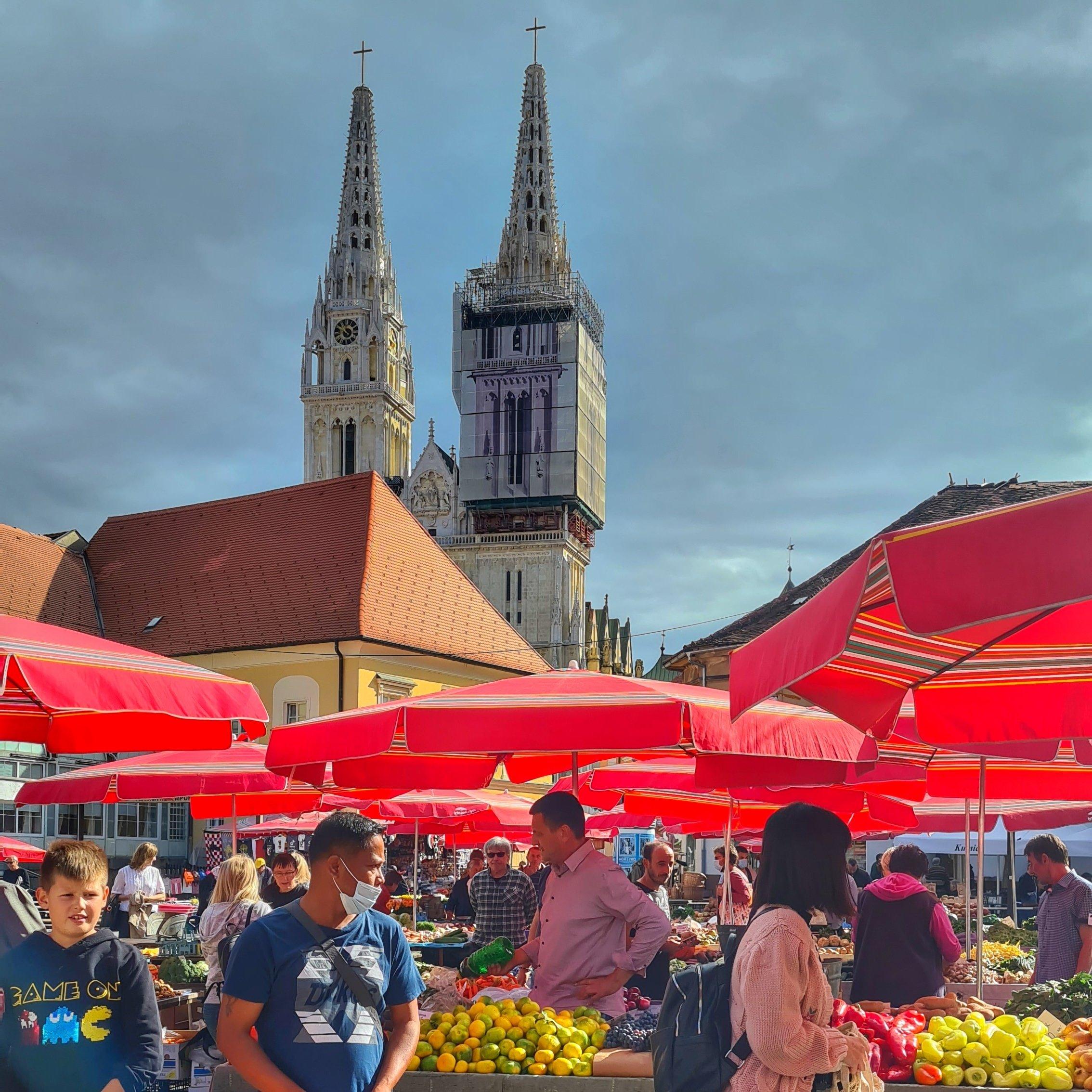 Tržnica Dolac Zagreb